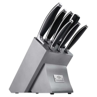 Hampton Forge 8-Piece Contempo Knife Block Set