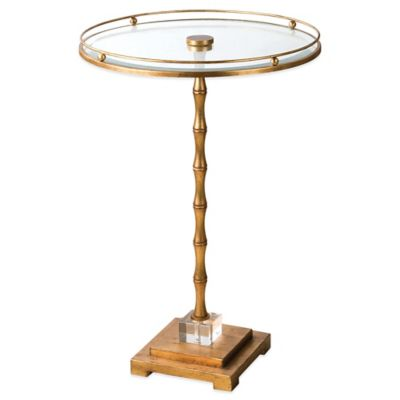 Uttermost Quindici Round Accent Table