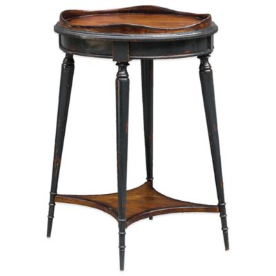 Uttermost Agacio Round Accent Table in Navy