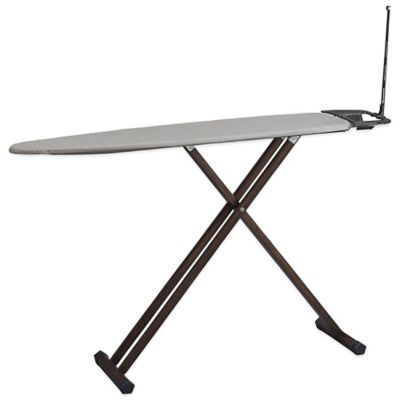 Household Essentials® Tri-Leg Wooden Ironing Board with Iron Rest