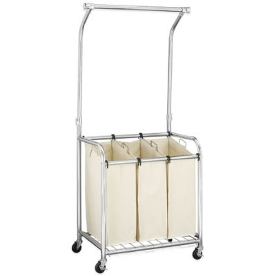 Household Essentials® Laundry Center with Rack