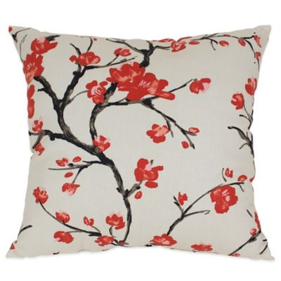 Flowering Branch Floor Pillow