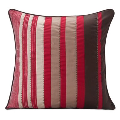 SPUN™ by Welspun Dwarka Handcrafted Throw Pillow in Red/Brown