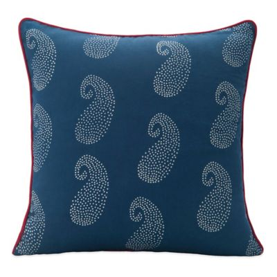 SPUN™ by Welspun Ajrakhi Handcrafted Throw Pillow in Blue