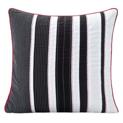 SPUN™ by Welspun Silhouette Handmade Throw Pillow in Black/White