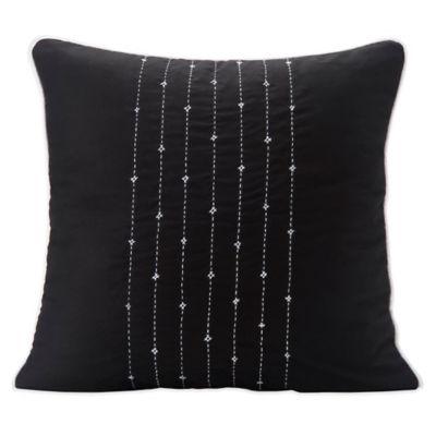 Black Decorative Toss Pillows