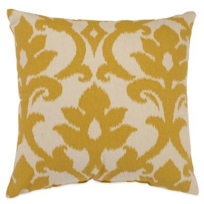 Golden Yellow Throw Pillows