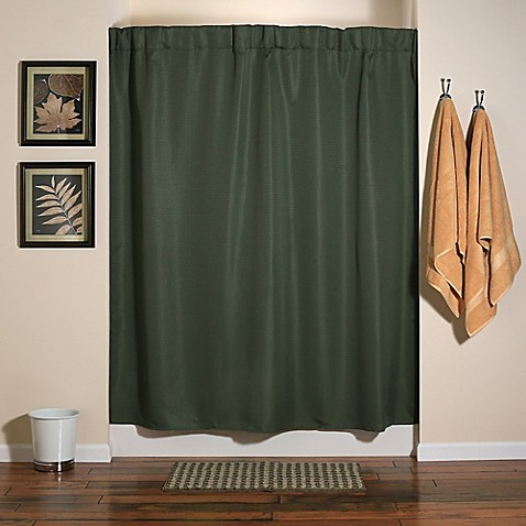Where To Hang Curtains Chartreuse Green Shower