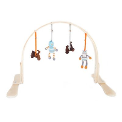 Finn + Emma Boy Wood Play Gym in Birch