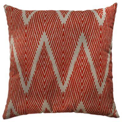 Bali Floor Pillow in Orange