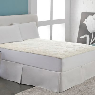 Therapedic Cotton Fleece Queen Mattress Pad
