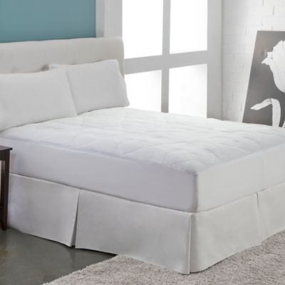 Perfect Fit® Silky Cotton Queen Mattress Pad