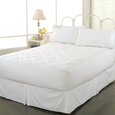 Perfect Fit® 300 Thread Count Flexwall® Queen Mattress Pad