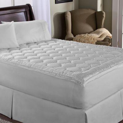 Perfect Fit® Luxury Stripe King Mattress Enhancer