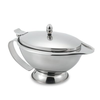 Stainless Steel Double Wall Gravy Server