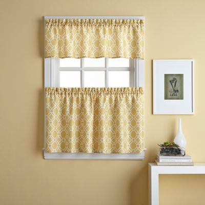 Cabana Trellis Window Curtain Valance