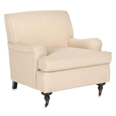 Safavieh Chloe Club Chair in Hemp