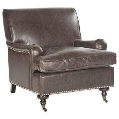 Safavieh Chloe Club Chair in Brown