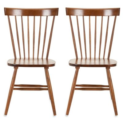 Safavieh Parker Spindle Side Chairs in Grey (Set of 2)