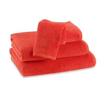 Red Orange Hand Towel