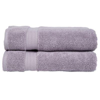 Bath Towel in Purple