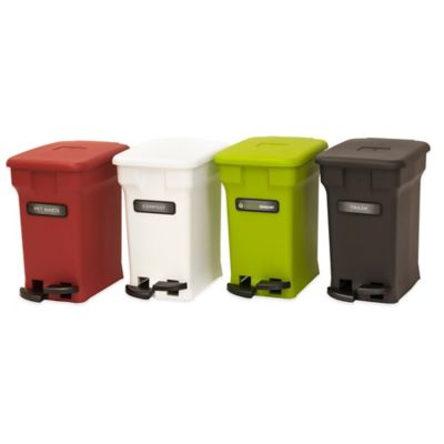 CompoKeeper® 6 Gallon Compost Bin in Red