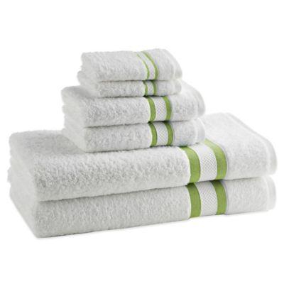 Striped Green Towels