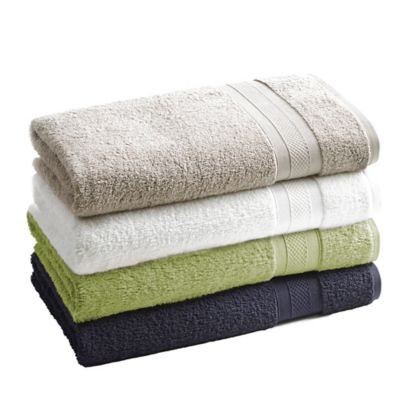 Kassatex Mayfair Solid Bath Towel in Midnight Blue