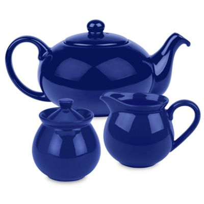 Royal Blue Tea Set