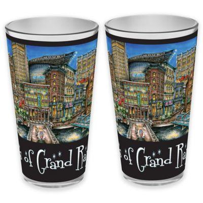 pubsOf. Grand Rapids, Michigan Pint Glasses (Set of 2 ...