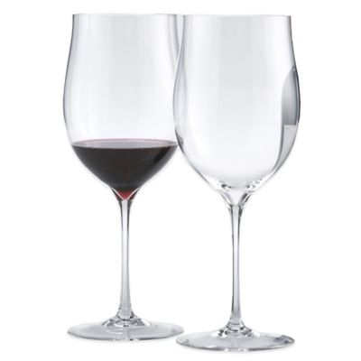 Wine Enthusiast Fusion Triumph Cabernet/Merlot/Malbec/Bordeaux Wine Glasses (Set of 2)