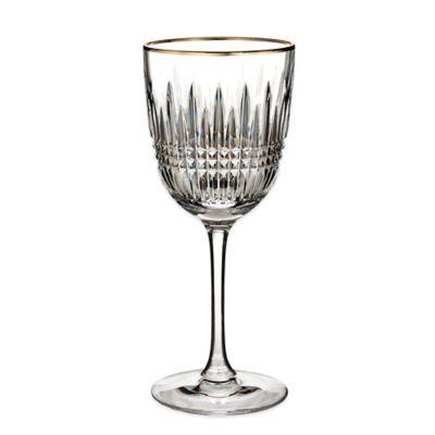 Waterford® Lismore Diamond Gold Goblet