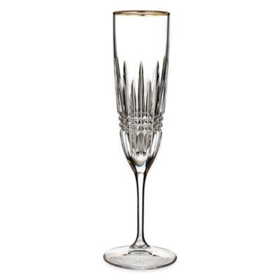 Waterford® Lismore Diamond Gold Flute