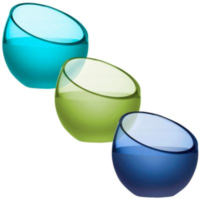 Sagaform® Aqua Tea Light Candle Holder in Blue