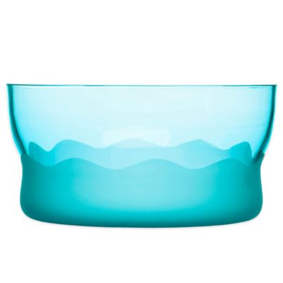 Sagaform® Wave Serving Bowl in Turquoise