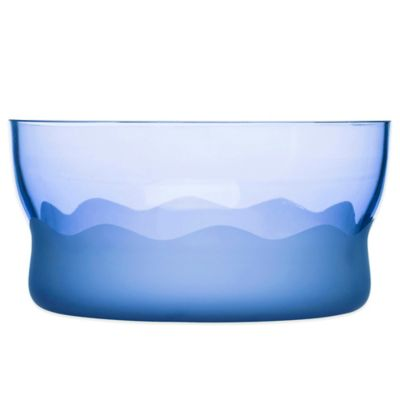 Sagaform® Wave Serving Bowl in Blue