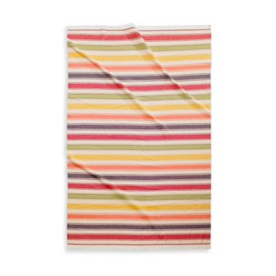 Kassatex Pareo Beach Reversible Beach Towel in Multi