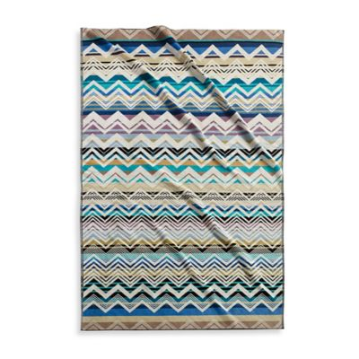 Kassatex Mistral Reversible Beach Towel in Blue
