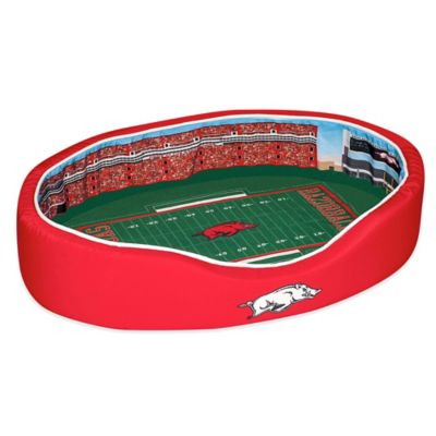 University of Arkansas Small Stadium Pet Bed
