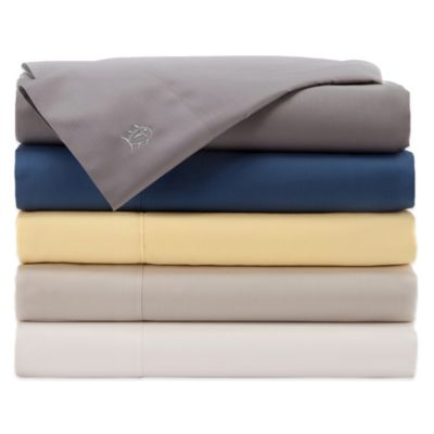 Southern Tide® Twill Tonal Twin Sheet Set in Blue