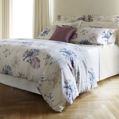 Frette At Home Campo De Fiori Queen Duvet Cover in Ivory