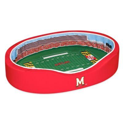 University of Maryland Small Stadium Pet Bed