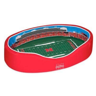University of Nebraska Small Stadium Pet Bed