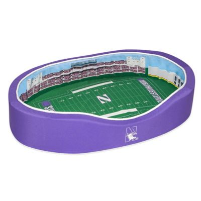Northwestern University Small Stadium Pet Bed