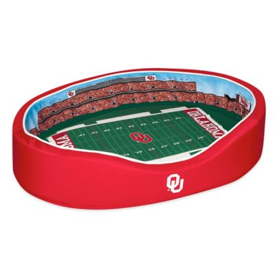 University of Oklahoma Large Stadium Pet Bed