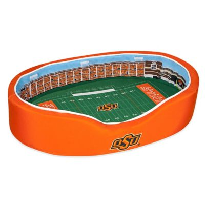 Oklahoma State University Large Stadium Pet Bed