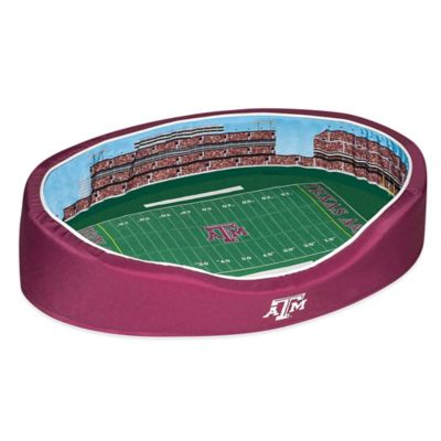 Texas A&M University Large Stadium Pet Bed