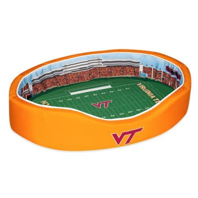 Virginia Tech Stadium Small Pet Bed