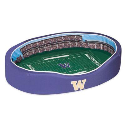 University of Washington Medium Stadium Pet Bed