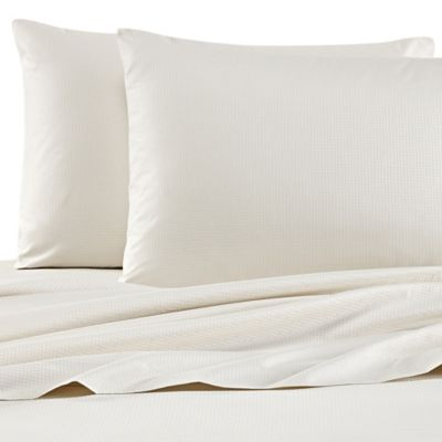 Barbara Barry Modern Dot King Sheet Set in Talc